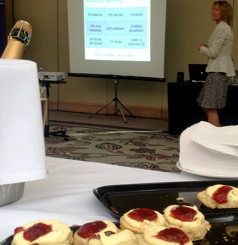 ECC hosts a successful 'afternoon tea' session at the UHR Conference - May 2016